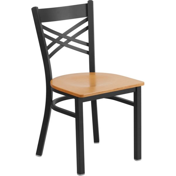 Flash Furniture HERCULES Series ''X'' Back Restaurant Chair