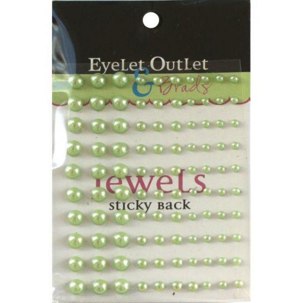 Bling Self-Adhesive Pearls Multi-Size 100/Pkg