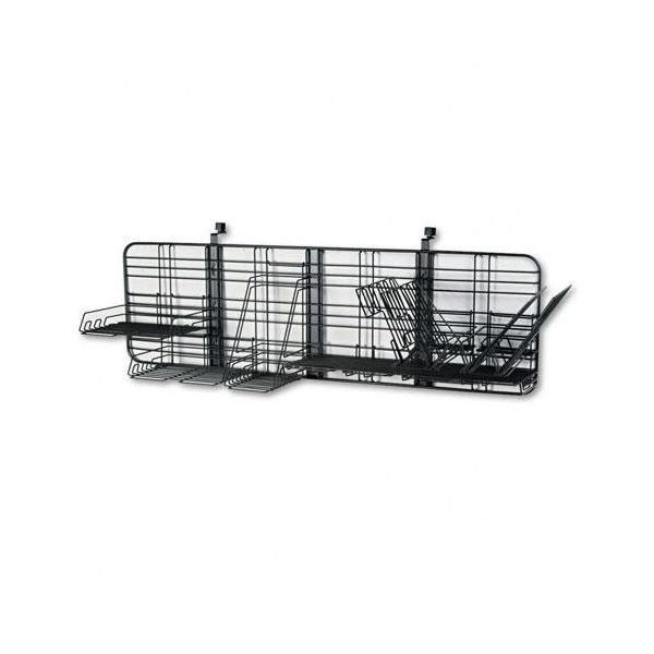 Safco GridWorks Intermediate Office Organization System, 51w x 15h, Charcoal