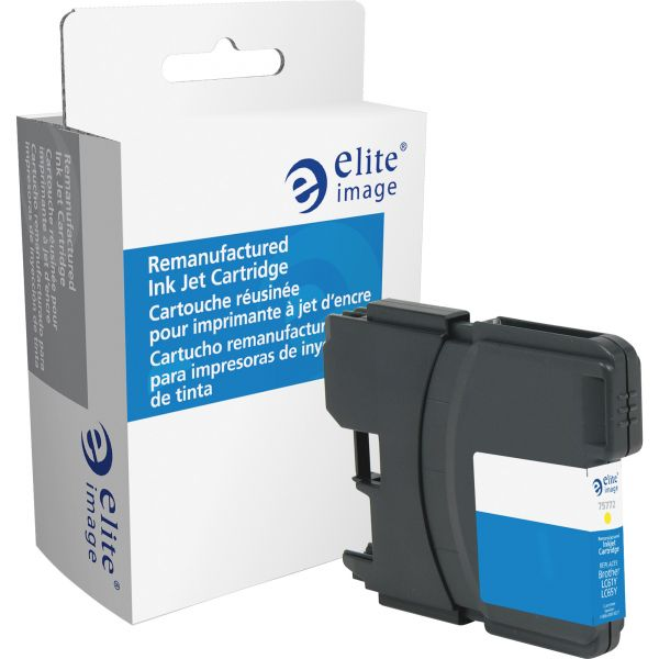 Elite Image Remanufactured Brother LC61YW Ink Cartridge