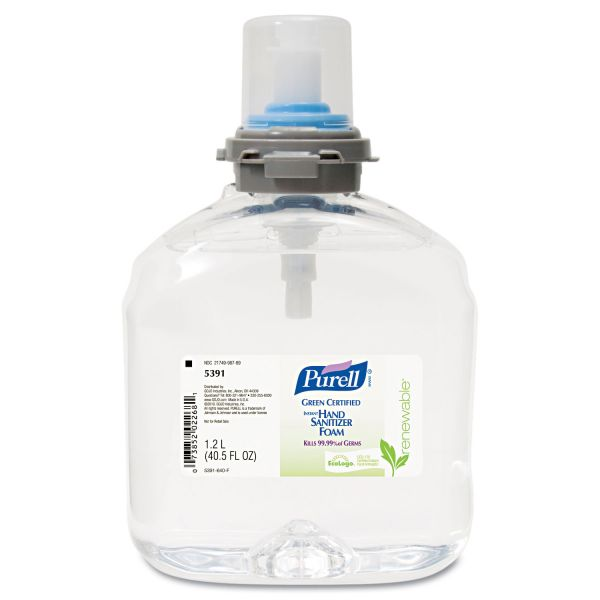 Purell Green Certified Instant Foam Hand Sanitizer Refills