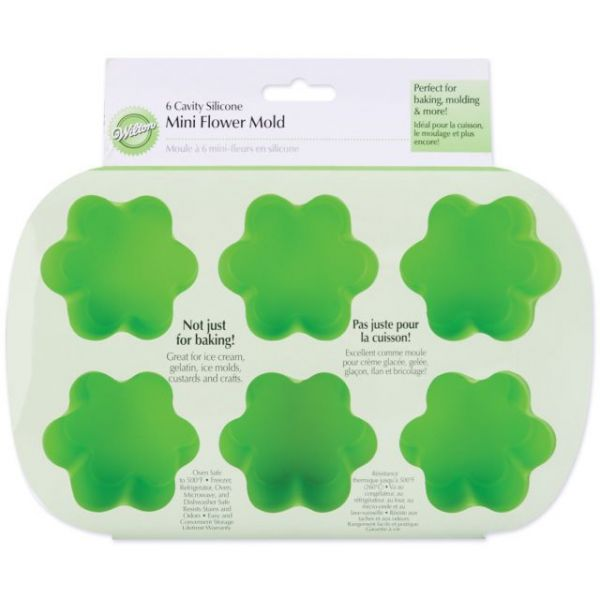Wilton Mini Silicone Flower-Shaped Mold