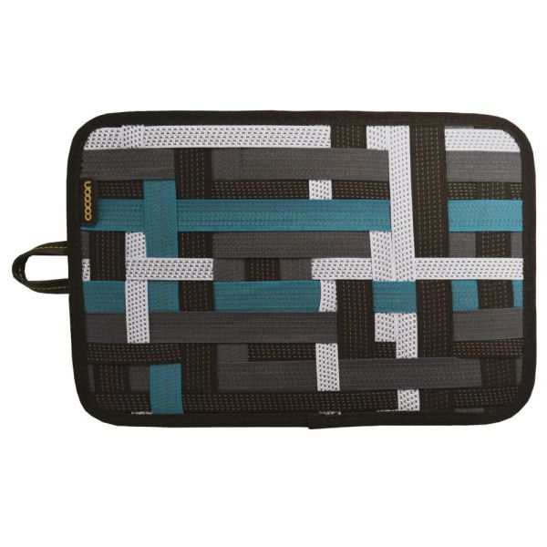 "Cocoon GRID-IT! Carrying Case for 8"" iPad mini, Tablet - Black, Green"