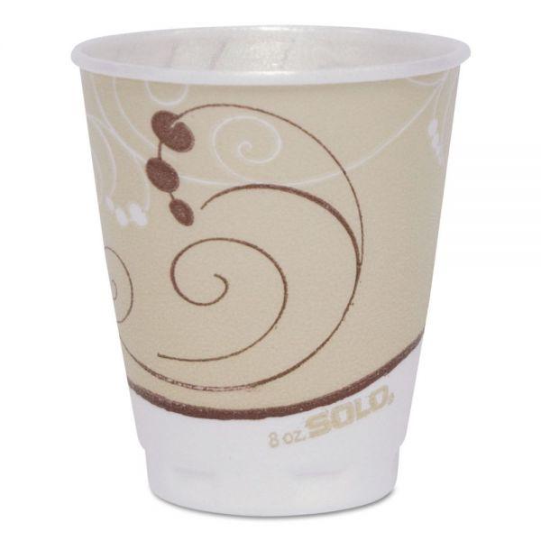 SOLO Dual Temperature 8 oz Foam Coffee Cups