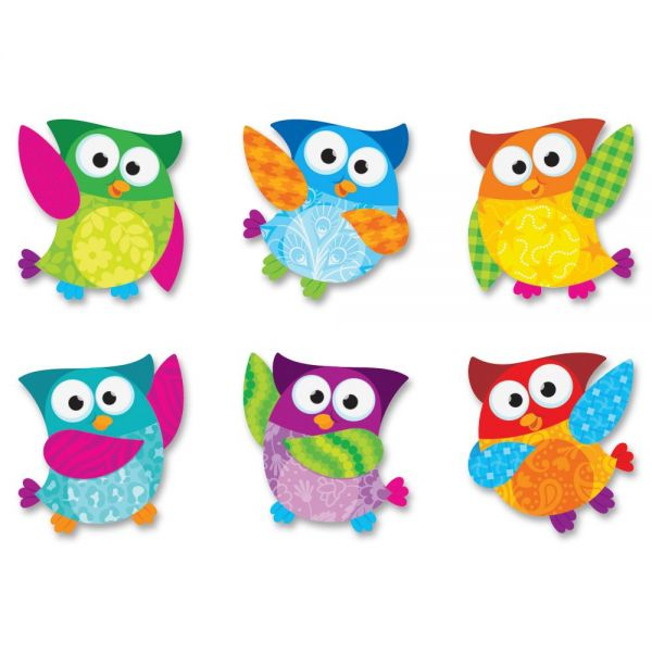 Trend Owl-Stars Mini Accents Variety Pack