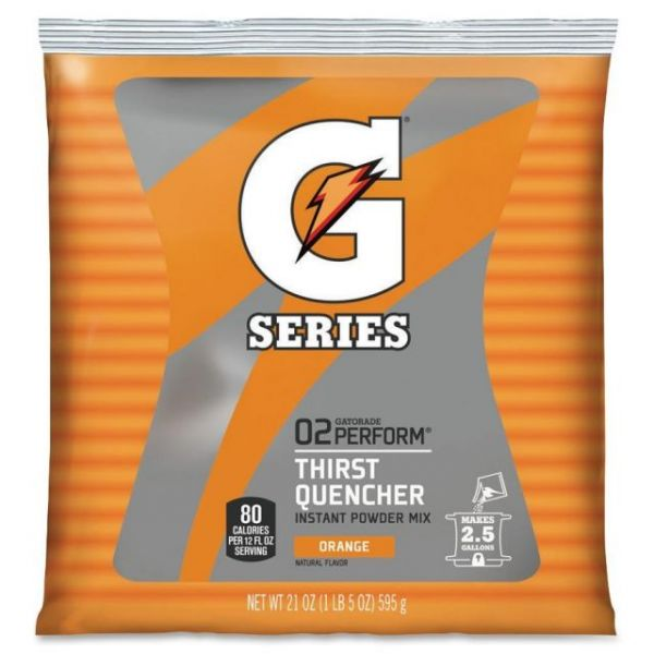 Gatorade Orange Thirst Quencher Mix Pouch