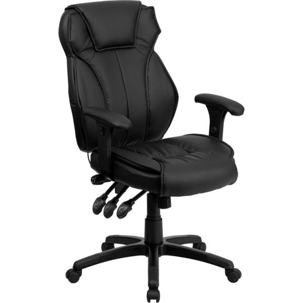 Flash Furniture High Back Executive Swivel Office Chair [BT-9835H-GG]