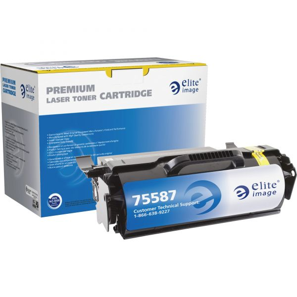 Elite Image Remanufactured MICR Toner Cartridge - Alternative for Lexmark (T650H21A)