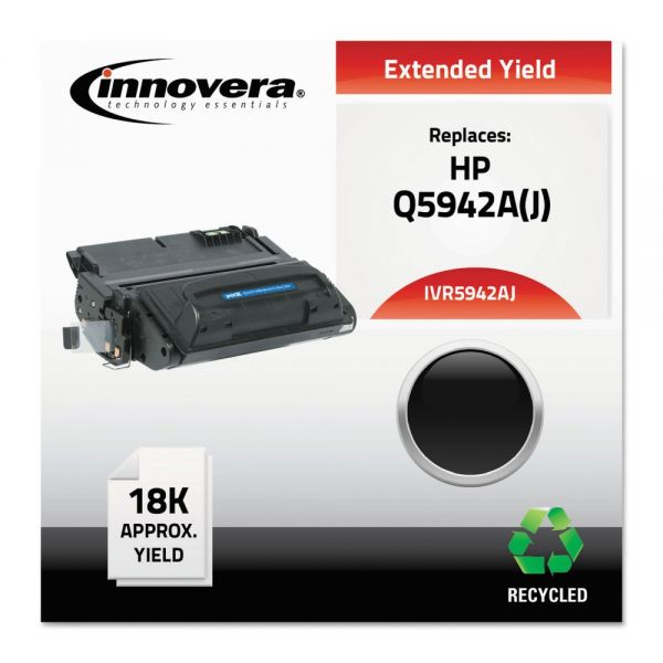 Innovera Remanufactured HP 42A (Q5942A) Extended-Yield Toner Cartridge