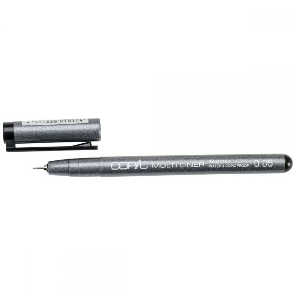 Copic Multiliner Black Ink Pen