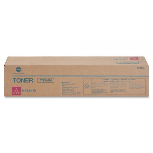 Konica Minolta TN314M Original Toner Cartridge - Magenta