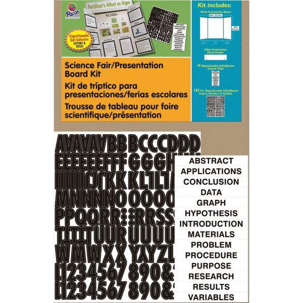Pacon Science Fair Presentation Board Kit