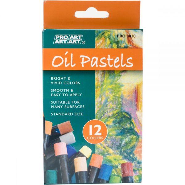 Pro Art Oil Pastels 12/Pkg