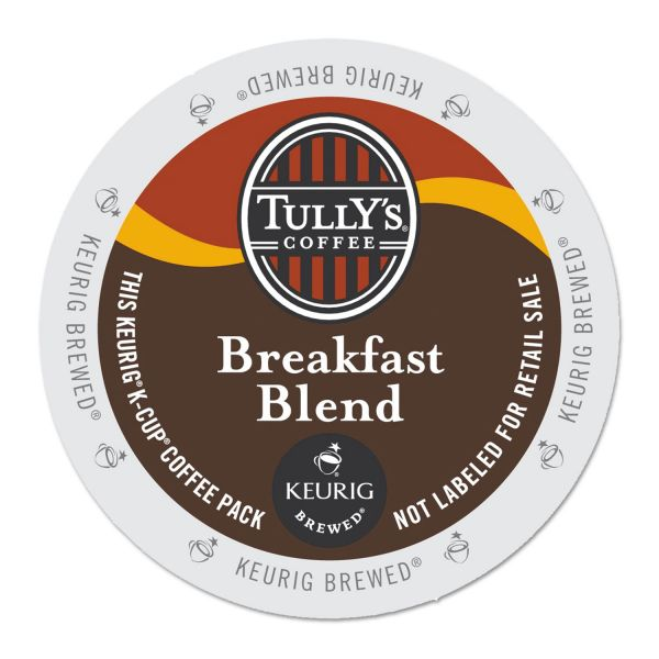 Tully's Coffee Breakfast Blend Coffee K-Cups