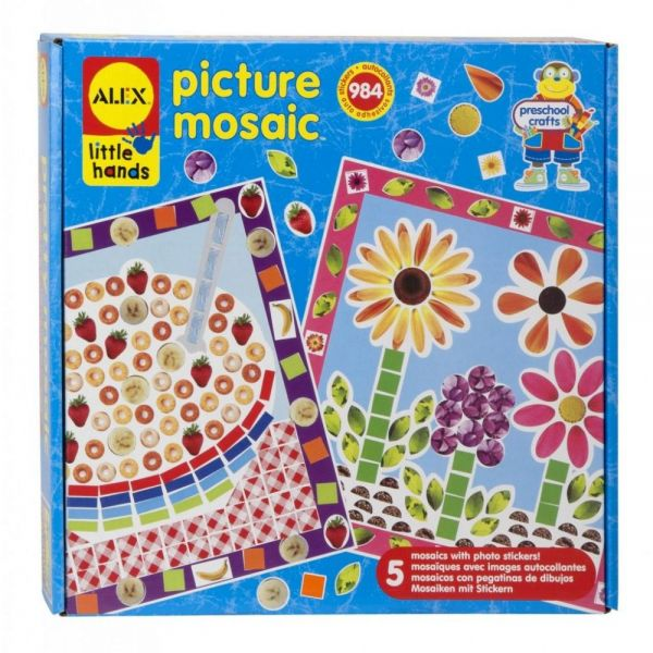 ALEX Toys Little Hands Picture Mosaic Kit