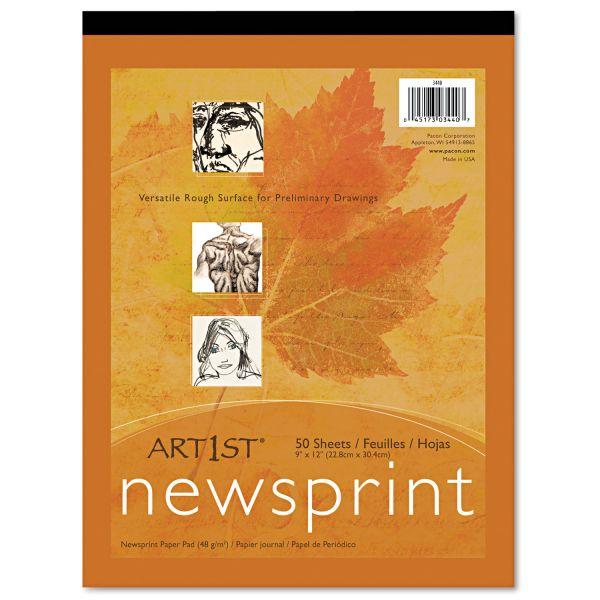 Pacon Art1st Newsprint Pad