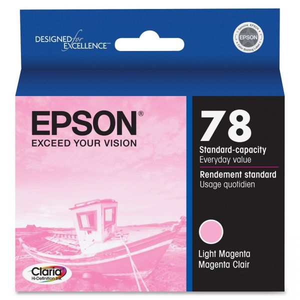 Epson 78 Light Magenta Ink Cartridge