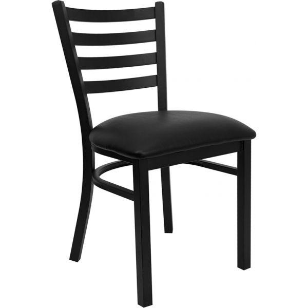 Flash Furniture Ladder Back Metal Restaurant Chair