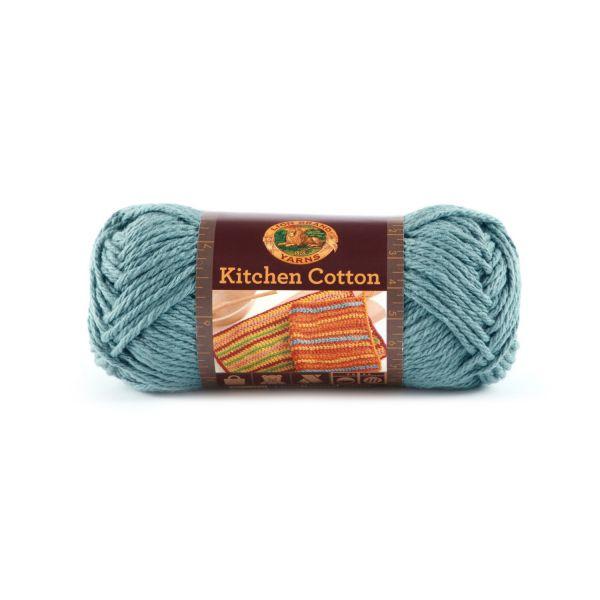 Lion Brand Kitchen Cotton Yarn - Blue Ice
