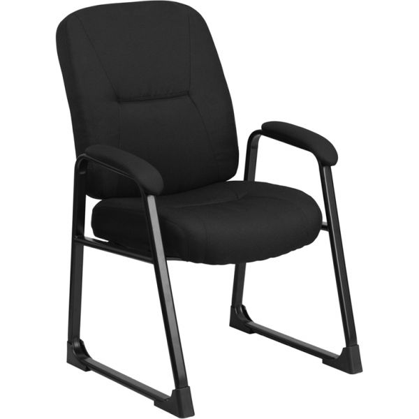 Flash Furniture Big & Tall Black Fabric Executive Side Chair
