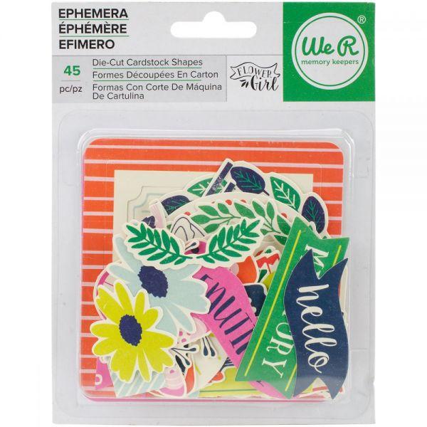 Flower Girl Ephemera Die-Cuts