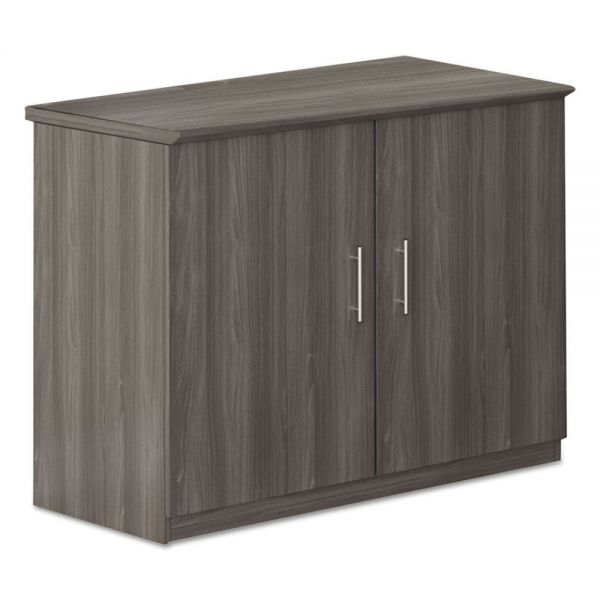 Mayline Medina Series Storage Cabinet, 36w x 20d x 29 1/2h, Gray Steel