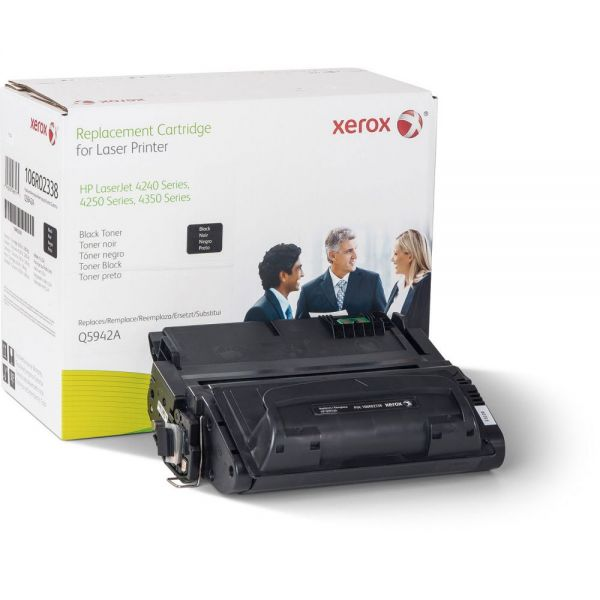 Xerox Remanufactured HP Q5942A Black Toner Cartridge