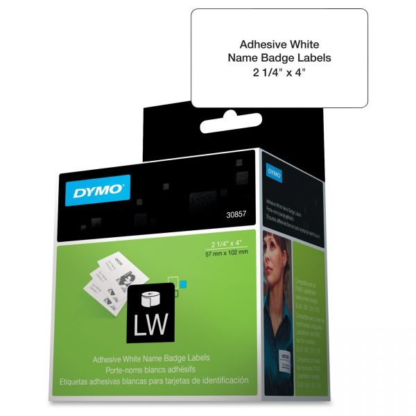 Dymo LabelWriter Adhesive Name Badges