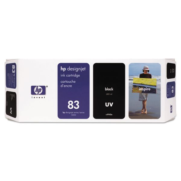 HP 83 (C4942A) UV Magenta Original Ink Cartridge