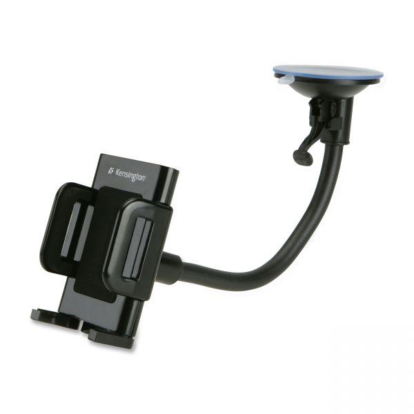 Kensington Windshield/Vent Car Mount for Smartphones, Black