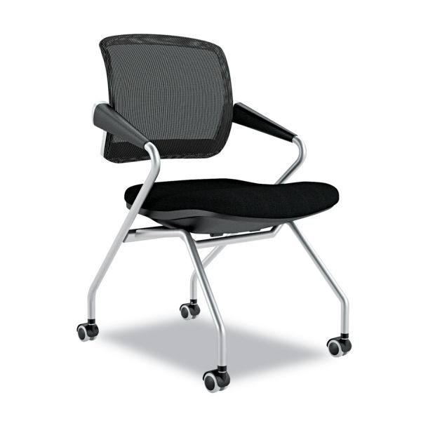 Mayline Valoré Training Series Mid-Back Nesting Chairs