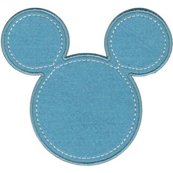 Disney Mickey Mouse Iron-On Applique
