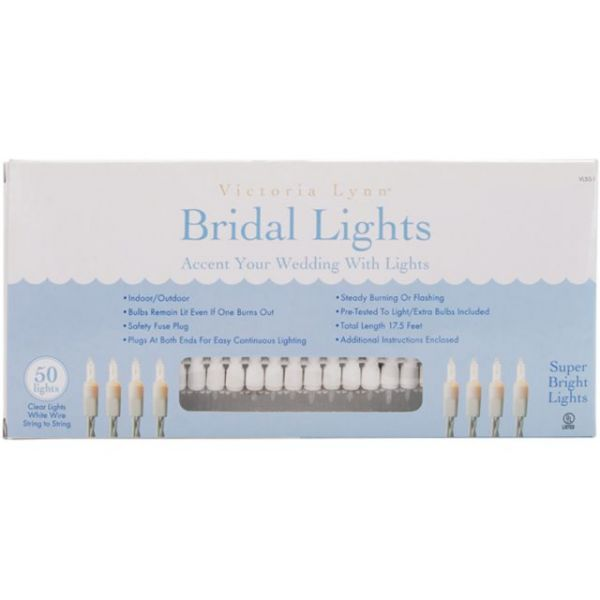 Bridal Lights 50 Count 17.5'