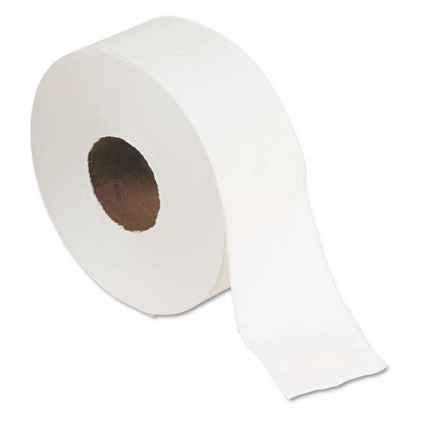 "Georgia Pacific Professional Jumbo Jr. Bath Tissue Roll, 9"" diameter, 1000ft, 8 Rolls/Carton"
