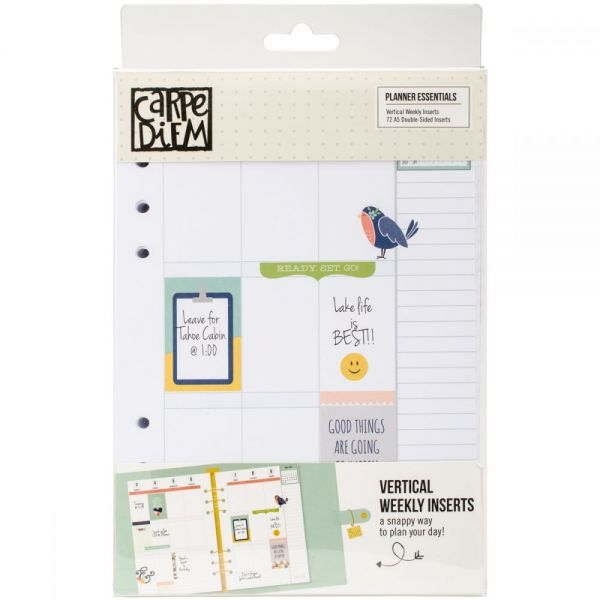 Planner Essentials Double-Sided Inserts A5 72/Pkg