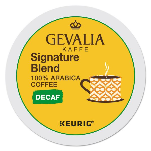 Gevalia Kaffee Signature Blend Coffee K-Cups - Decaf
