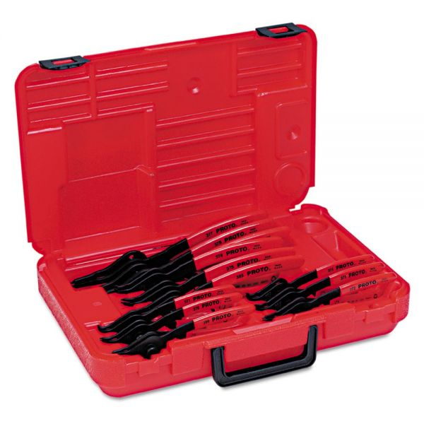 PROTO 12-Piece Convertible Retaining Ring Pliers Set