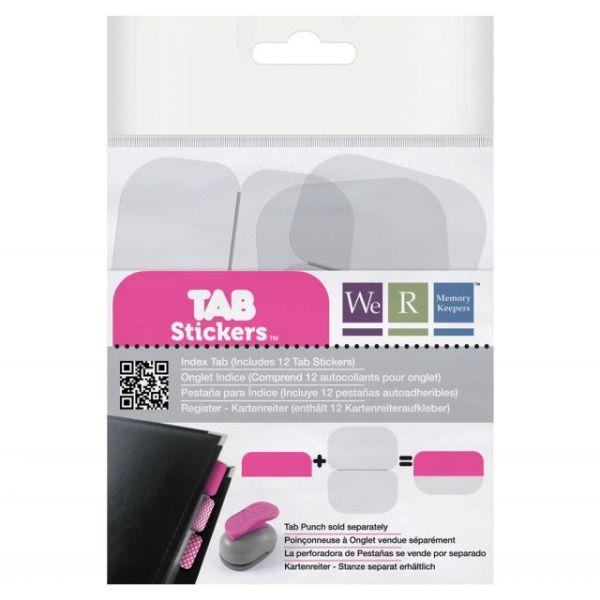 Tab Stickers 12/Pkg