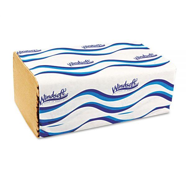 Windsoft Embossed Singlefold Paper Towels