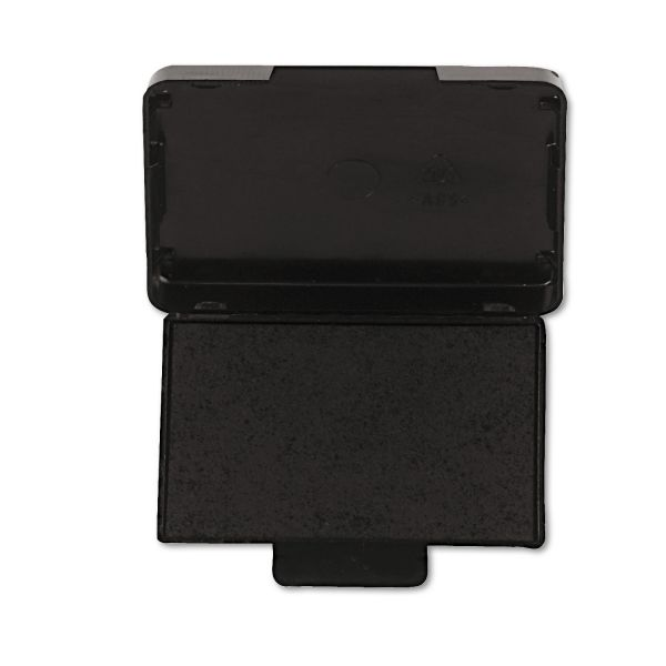 Identity Group T5440 Dater Replacement Ink Pad, 1 1/8 x 2, Black