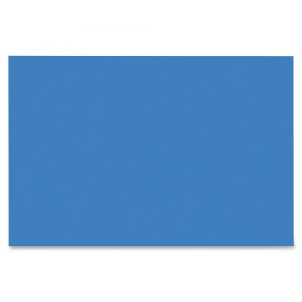 SunWorks Heavyweight Blue Construction Paper