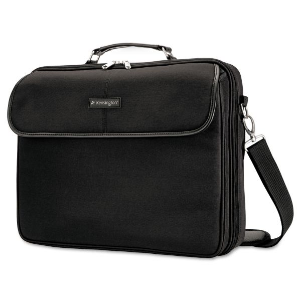 Kensington Simply Portable 30 Notebook Case, 15 3/4 x 3 x 13 1/2, Black