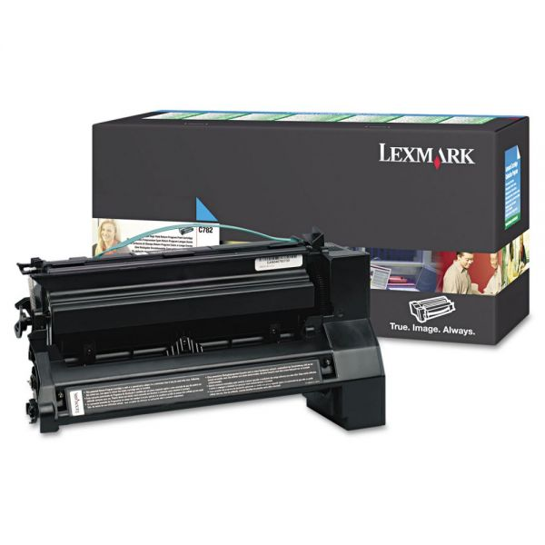 Lexmark C782X4CG Cyan Extra High Yield Toner Cartridge