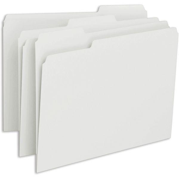 Smead White Colored File Folders
