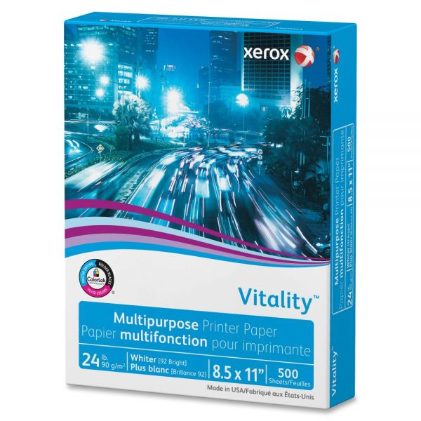 Xerox Vitality Multi-Purpose White Copy Paper