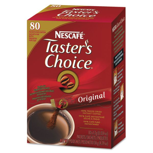 Nescafé Premium Instant-Coffee Single-Serve Sticks
