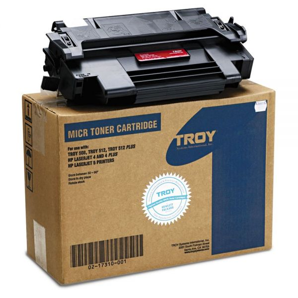 Troy Remanufactured HP 92298A MICR Toner Cartridge