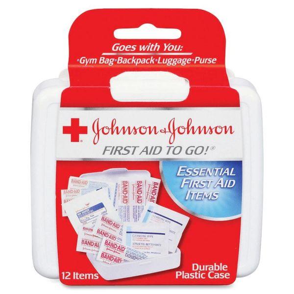 Johnson&Johnson First Aid To Go! Mini First Aid Kit