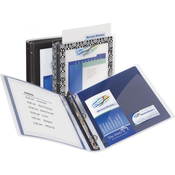 "Avery Flexi-View 1 1/2"" 3-Ring View Binder"