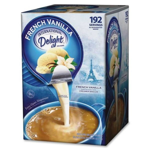 International Delight Int'l Delight French Vanilla Creamer Singles